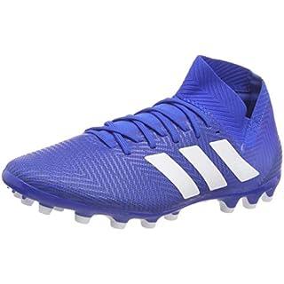 adidas Men's Nemeziz 18.3 Ag Shoes, (Football Blue/FTWR White), 8 UK