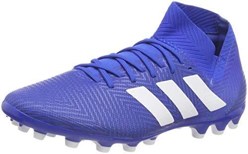 adidas Herren Nemeziz 18.3 AG Fußballschuhe, blau/weiß, 42 EU -