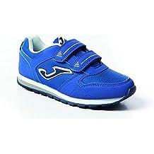 Joma Niños Tiempo Libre Zapatos/zapatillas/Sport/turnschuh Tornado, Azul, Boys,, tornas de 504, Tornado, azul, 33