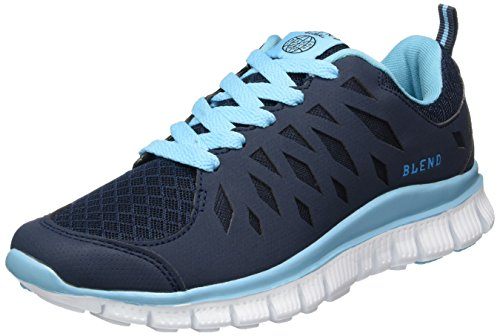 Blend 20700696, Baskets Basses femme Bleu - Blau (70230 Navy)