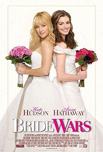 EBONI ELLIOTT Bride Wars Original Movie Poster 27x40 - Dbl-Sided - Anne Hathaway - Kate Hudson - Bryan Greenberg - Chris Pratt - Hudson Movie Poster