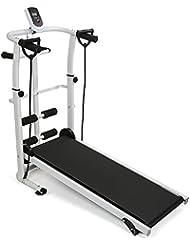 Wefun Multi-Tapis Roulant Pliant Tapis de Course Machine Fitness équipement ménage avec LCD d'exécution de Formation