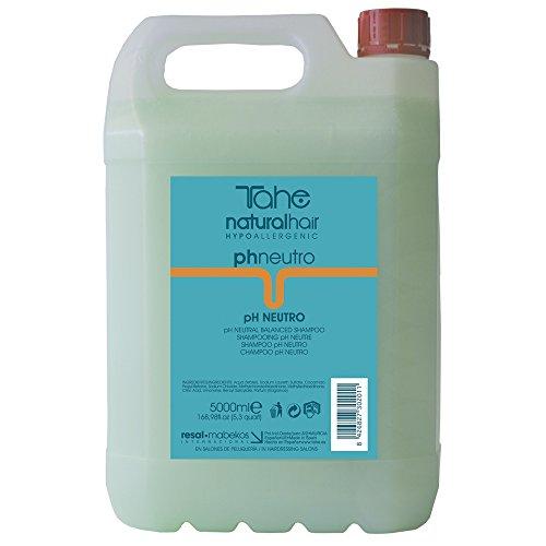 Tahe Natural Hair Champú Profesional de Peluquería Ph Neutro Aroma Tradicional, 5 L