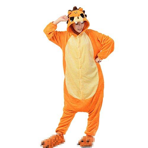 Imagen de misslight flanela unicornio cosplay pijamas animal novedad carnaval disfraz halloween juguetes y juegos navidad pijamas adultos ropa de noche s, león