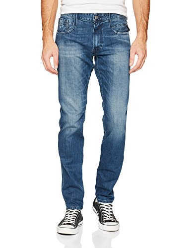 Replay Herren Slim Jeans Anbass Blau (Mid Blue 9)