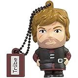 Tribe Game of Thrones Tyrion USB Stick 16GB Speicherstick 2.0 High Speed Pendrive Memory Stick Flash Drive, Lustige Geschenke 3D Figur, USB Gadget aus Hart-PVC mit Schlüsselanhänger – Mehrfarbig