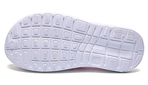Unisexe Eagsouni Sandales Sabots Chaussures De Plage Occasionnels Respirant Sabots De Mer Sabot Pantoufles Été Hommes Femmes Rose