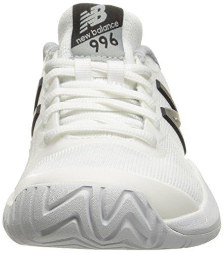 New Balance WC996 B Damen Laufschuhe White/Black
