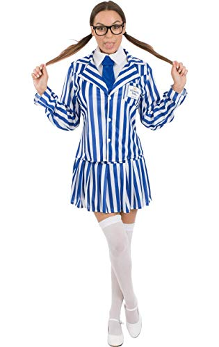 Kostüm Geek Fancy Girl Dress - ORION COSTUMES Value Fancy Dress Female School Girl Costume