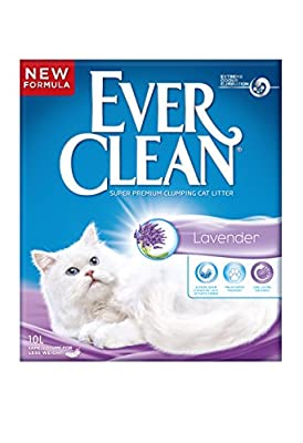Ever Clean Cat Litter 10 Litre, Lavender from Clorex Company