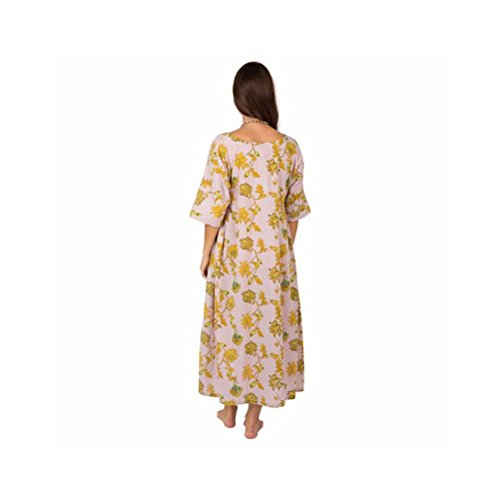 Zen*Ethic - Robe Ample Lea - Popeline de coton Rose