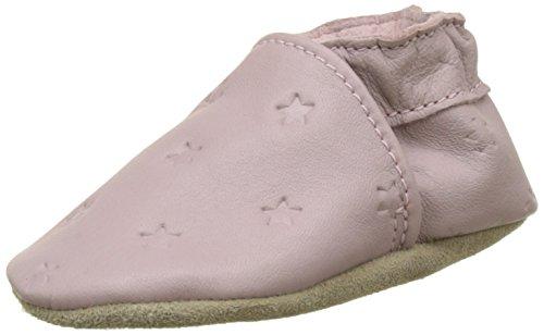 Robeez Unisex Baby Dressy Krabbelschuhe, Mehrfarbig (Beige Rose), 23/24 EU (Dressy Jungen Schuhe)