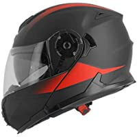 ASTONE casco modulable rt1200 Vanguard talla negro mate rojo, ...