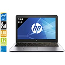 HP Elitebook 850 G1 | Notebook | Laptop | 15,6 Zoll (1366x768) | Intel Core i7-4600U ,  2,1 GHz | 4GB DDR3 RAM | 180 GB SSD | Windows 10 Home (Generalüberholt)