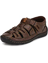 WOODSTONE Alberto LECBAN Men's Brown Leather Sports Shoe for Men
