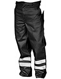 Yoko Mens Hi Vis Reflective Working Trousers (Regular)