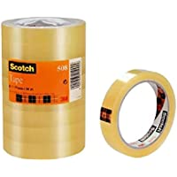 Scotch Cinta transparente 508 (pack de 8 rollos)