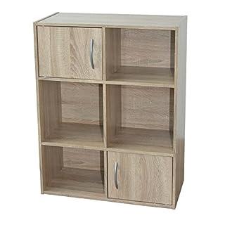 Alsapan Regal, Holz, braun, 62x 30x 80cm
