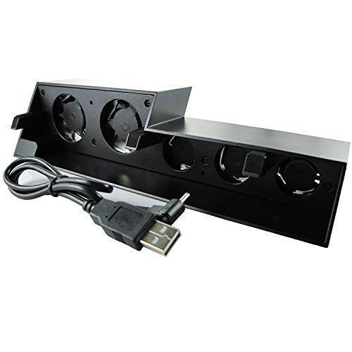 WINGONEER Súper refrigerador ventilador de refrigeración para PS4 [Playstation 4] - Negro