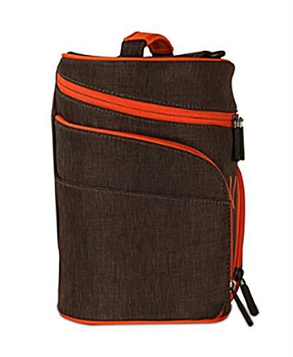CLOTHES- Sacchetto di immagazzinaggio del sacchetto cosmetico del sacchetto di trasferimento impermeabile del sacchetto di lavaggio del sacchetto della barra di plastica portatile di Digitahi portatil Grigio scuro