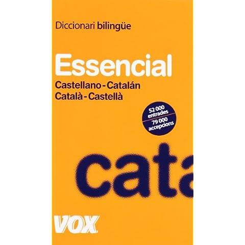 Diccionari Essencial Castellano-Catalán / Català-Castellà (Vox - Lengua Catalana - Diccionarios