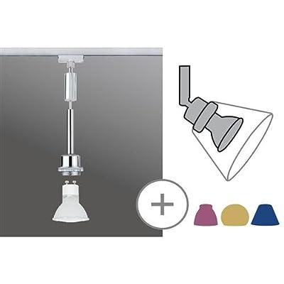 Pendel 1-flammig Basic Leuchtmittel: 1 x Halogen Reflektorlampe / GZ10 / 40W / 230V, Farbe: Silber von Paulmann auf Lampenhans.de