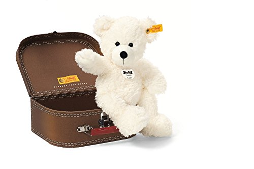 Steiff-28cm-Lotte-Teddy-Bear-in-Suitcase-White