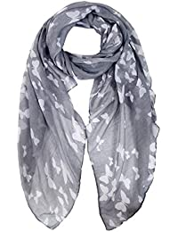 2093d1ca5 Ladies Women's Fashion Butterfly Print Long Scarves Floral Neck Scarf Shawl  Wrap by DiaryLook