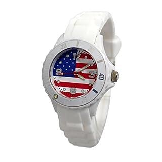 Kinder-Armbanduhr Watch ADO USA Flage New York