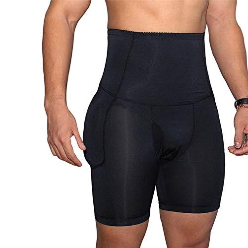 Ohwens Unterwäsche, Hip Shaper Shorts, Bauch-Shorts, Herren Butt Lifter Gepolsterte Unterwäsche Gesäß Booster Enhancer Hip Shaper Boxershorts für Sport-Gymnastik,Underwear,Hip Shaper Shorts -
