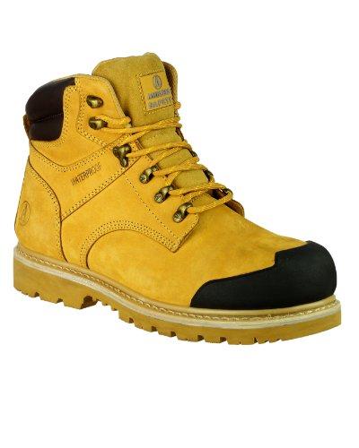 Amblers Steel , Chaussures de sécurité pour homme - Beige - Miel, 45