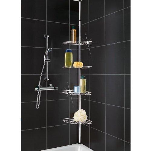 hartleys-scaffale-angolare-a-4-ripiani-per-doccia-regolabile-e-facile-da-montare-acciaio