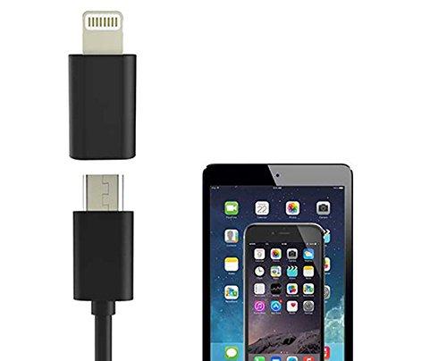 Cable Cargador Micro USB Adaptador Convertidor Para iPhone 6 6 S 5...