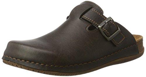 fischer-mens-herren-pantolette-mules-brown-size-44-eu