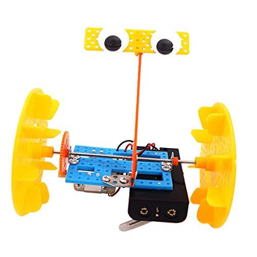 MagiDeal Verschiedene Elektronik Experimente Wissenschaft Spielzeug Wissensspiele - Selbstausgleich Roboter Kit 2