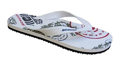 Dunlop , Herren Dusch- & Badeschuhe Weiß
