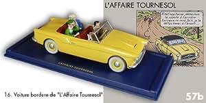 La voiture bordure de l'Affaire tournesol. #16. En voiture Tintin. Moulinsart . Hergé