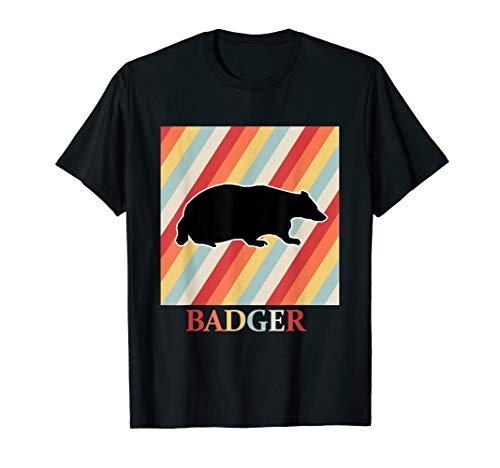 dachs shirt Retro Vintage 70er 80er Jahre Style -