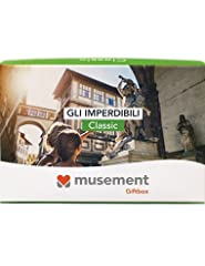 Idea Regalo - Musement Giftbox - GLI IMPERDIBILI (Classic) - Cofanetto regalo