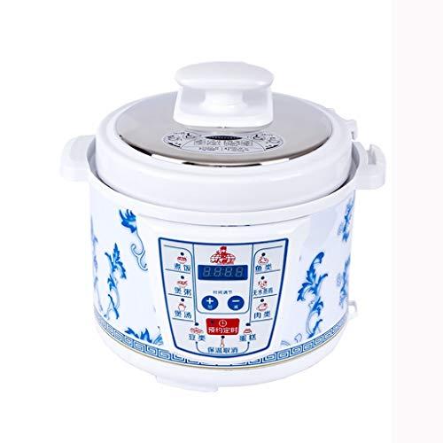 Arroceras Olla arrocera inteligente, cocina multifunción 6 en 1, 5L, 10 tazas de cocina de cocción sin cocinar, apta for 5-8 personas - for cocinar sopa, arroz, estofados y avena Calentadores de arroz