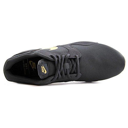 Nike Kaishi Run, Sneakers basses femme Noir (anthracite / doré métallique - blanc - noir)
