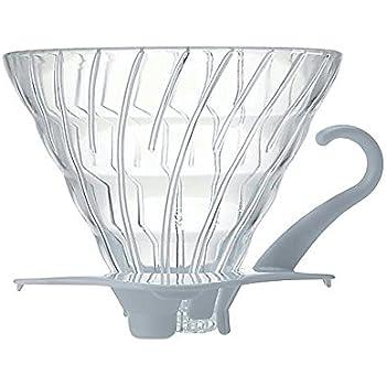 Hario Plastique Café Dripper, blanc, Size 02