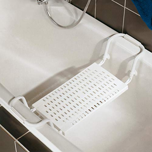 Schulte 1839 Sicherheits-Badewannensitz, Weiß