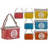 Bolsa Nevera de Playa con Asa y Cremallera Cuatro Colores Hogar y Más - Rojo