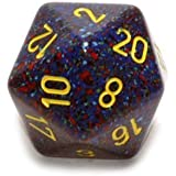Jumbo d20 Counter - Speckled 34mm Dice: Twilight by Chessex by Chessex