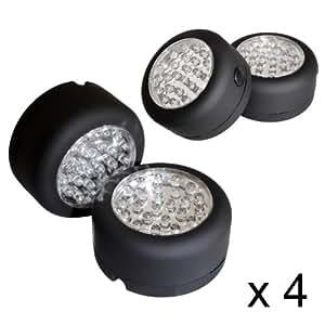 4er set mobile outdoor leuchte campinglampe lampe. Black Bedroom Furniture Sets. Home Design Ideas