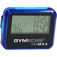 Gymboss miniMAX Interval Timer and Stopwatch - BLUE / BLUE METALLIC GLOSS