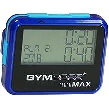 Gymboss miniMAX Intervallzeitgeber Und Stoppuhr BLAU / BLAU METALLIC-HOCHGLANZ