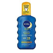 Nivea Protect and Hydrate Sun Spray SPF 15, 200 g