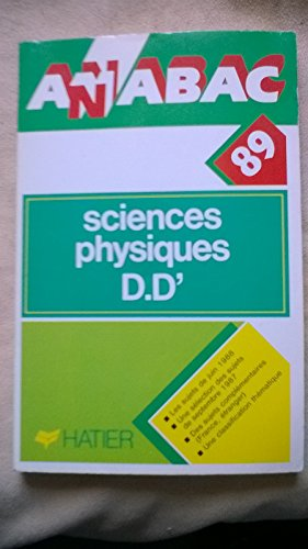 Anabac.bac 1989. sciences physiques dd-. 12